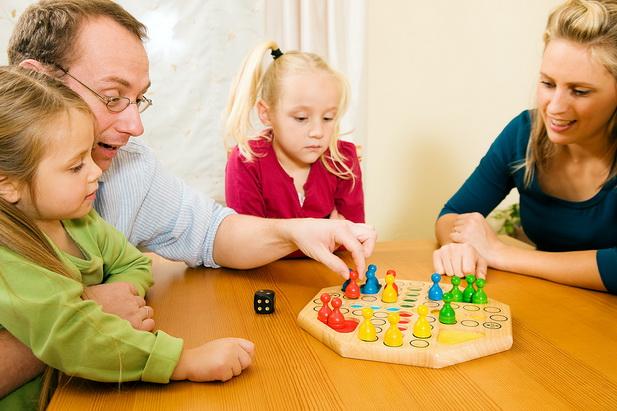 настольные игры с детьми